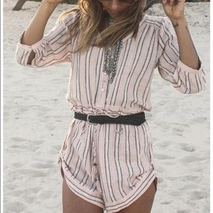 Spell & Gypsy Collective striped romper